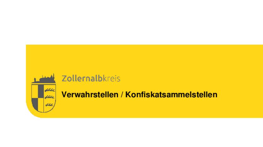 Jägervereinigung Zollernalbkreis Seit September 2018 Sind Alle